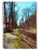 Bridge Number 2 Along The Delaware Canal Spiral Notebook