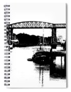Bridge On The Boyne Spiral Notebook