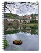 Bridge Over Lima River Spiral Notebook