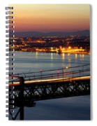 Bridge Over Tagus Spiral Notebook