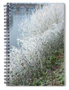 Bridge Over The River Severn Spiral Notebook