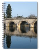 Bridge Over The River Thames Spiral Notebook