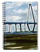 Bridge To Charleston Spiral Notebook