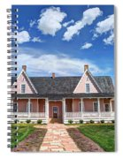 Brigham Young Forest Farm Home Spiral Notebook