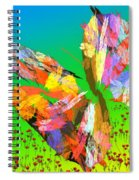 Bright Elusive Butterflys Of Love Spiral Notebook