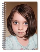 Bright Eyes Spiral Notebook