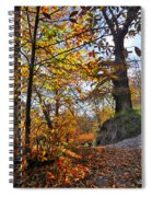 Bright Leaves Spiral Notebook