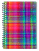 Bright Plaid Spiral Notebook