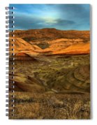 Brightly Painted Hills Spiral Notebook