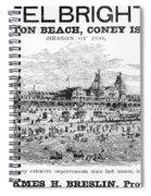 Brighton Beach Hotel, 1880 Spiral Notebook