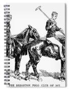 Brighton Polo Club, 1877 Spiral Notebook