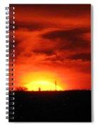 Brilliant Goodbye Spiral Notebook
