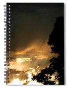 Brilliant Rays Spiral Notebook
