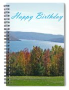 Bristol Harbor Birthday  Spiral Notebook