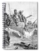 British At Aboukir, 1801 Spiral Notebook
