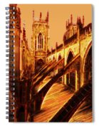 British Christian Cathedral  Spiral Notebook