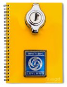 British Leyland Spiral Notebook