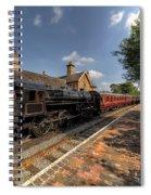 British Locomotion Spiral Notebook