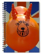 British Space Hopper Spiral Notebook
