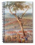 British Troops Surrender At Yorktown Spiral Notebook