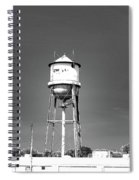 Broad Ave Watertower Memphis Spiral Notebook