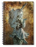 Broken Angel Spiral Notebook