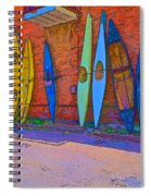Broken Kayaks  Spiral Notebook