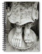 Broken Statue Spiral Notebook