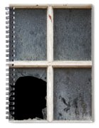 Broken Window Spiral Notebook
