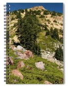 Brokeoff Mountain Spiral Notebook