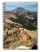 Brokeoff Mountain Scenery Spiral Notebook