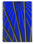 Bronze Sunlight Spiral Notebook