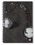 Brooch And Necklace Spiral Notebook