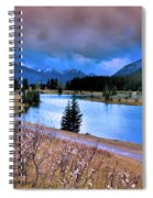 Brooding Skies Spiral Notebook