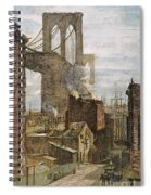 Brooklyn Bridge, 1882 Spiral Notebook