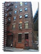 Brooklyn New York - 126 Front Street. Spiral Notebook