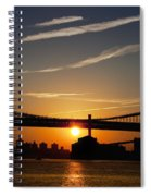 Brooklyn Sunrise Spiral Notebook