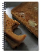 Brown Bread With Butter Spiral Notebook