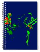 Bruford And Rutherford Blue 2 Spiral Notebook