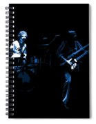 Bruford And Rutherford Blue Spiral Notebook