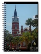 Brunswick Clock  Spiral Notebook