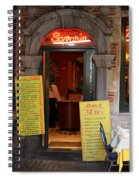 Brussels - Restaurant Savarin Spiral Notebook