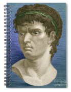 Brutus, Roman Politician Spiral Notebook