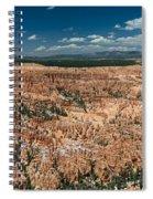 Bryce Canyon Panaramic Spiral Notebook