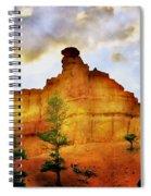 Bryce National Park Sunset Spiral Notebook