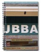 Bubba Burgers Spiral Notebook
