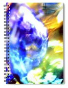 Bubble Abstract 001 Spiral Notebook