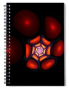 Bubble Art 1 Spiral Notebook