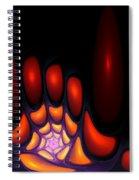 Bubble Art 2 Spiral Notebook