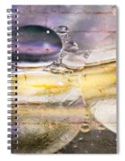 Bubble Fusion Spiral Notebook